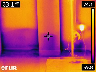 Thermographic Imaging of Hidden Water Damage